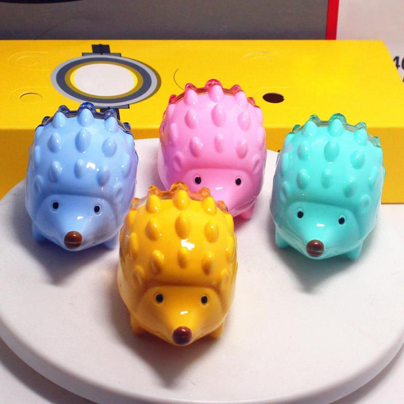 Pencil Sharpeners 2019 Latest Design 1pcs Kawaii Hedgehog Design Double Orifice Mini Pencil Sharpener Children Cartoon Pencil Sharpener Pens, Pencils & Writing Supplies