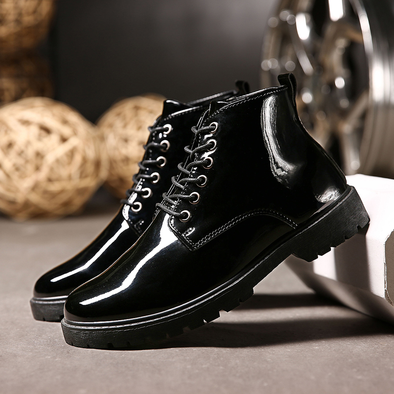New Arrival Working Boots Leather Men Luxury Brand Ankle Winter For Best selling Safety