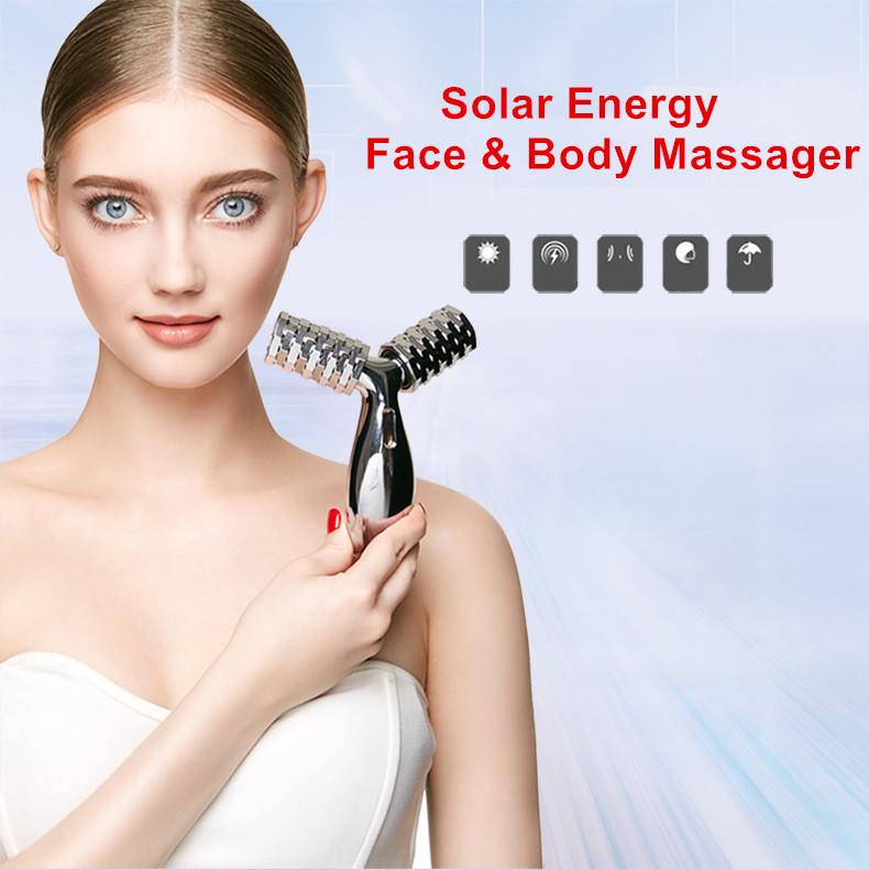 Solar Energy 3D Body Massager Micro Current Thin Face Massager Roller slimming instrument shaping tight skin beauty instrumentSolar Energy 3D Body Massager Micro Current Thin Face Massager Roller slimming instrument shaping tight skin beauty instrument