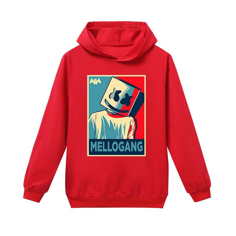 Marshmello Boys Girls Cotton Sweatshirt Hoodies Children/'s Spring Fall Pullover