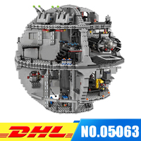 2017 Lepin 05063 4016pcs Genuine New Force Waken UCS Death Star Educational Building Blocks Bricks Toys