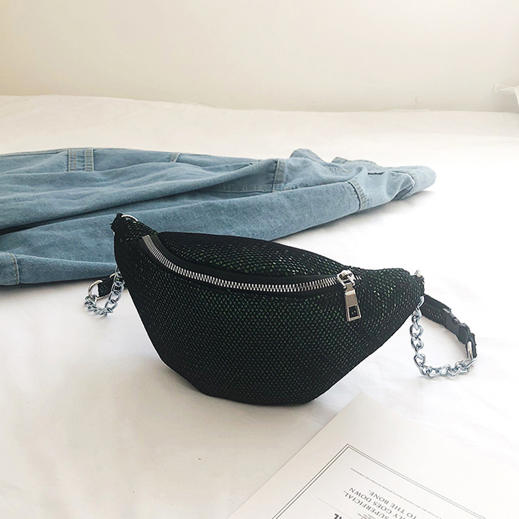Unisex Waist Bag Fashion Grid Small Crossbody Messenger Bolsa Cintura Feminina Marsupio Uomo Sac Ceinture Banane Sacoche 2019