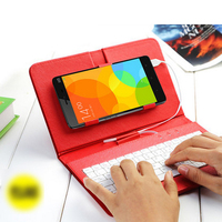 Top Cortex Free Bracket Physical Keyboard Xiaomi Redmi Note 2 Case High Quality Leather Flip Cover
