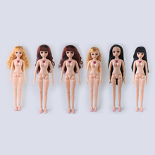 60cm 1/3 BJD Dolls Toys Naked Nude Doll Body With Shoes Large Fashion Princess BJD Doll Toy For Girls Gift 1pair 2pcs 3 5cm fashion plastic doll shoescsuit for blythe licca jb bjd dolls accessory toy parts