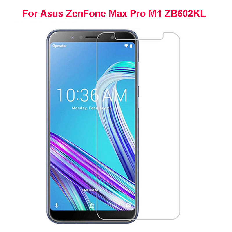 Tempered <font><b>Glass</b></font> For Asus ZenFone Max Pro M1 ZB602KL Screen Protector Asus ZenFone Max Pro M1 ZB602KL <font><b>ZB</b></font> <font><b>602KL</b></font> X00TD <font><b>Glass</b></font> Film 9H image