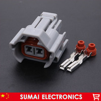 2Pin Oil nozzle plug/connector,Methanol refit,Car waterproof electrical connector for VW Mitsubishi Nissan etc.