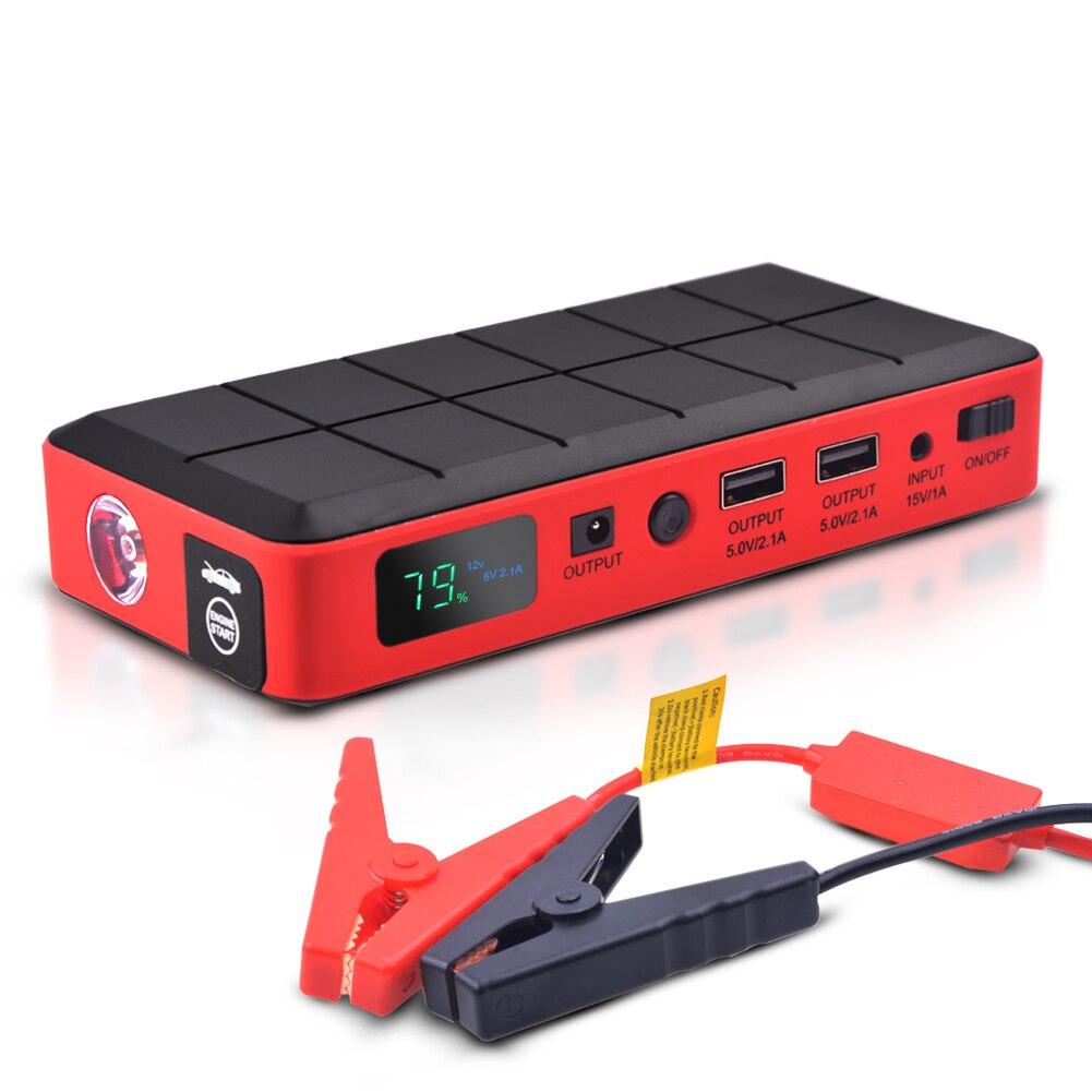 Prix pour Ihens5 Portable Batterie Chargeur Mini Voiture Saut Démarreur Booster de La Banque D'alimentation avec Chargeur USB pour 12 V Voiture Moto Téléphone ordinateur portable