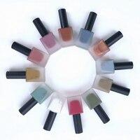1 Şişe Renkli Nail Art Dayanıklı Su Geçirmez Çabuk kuruyan Şeker Kabak Salata Oje Takım