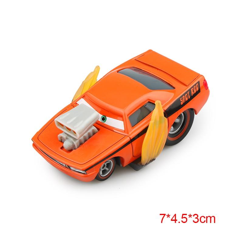 Дисней Pixar Тачки 2 3 Молния Маккуин матер Джексон шторм Рамирез 1:55 литье под давлением автомобиль металлический сплав мальчик малыш игрушки Рождественский подарок - Цвет: Rotz