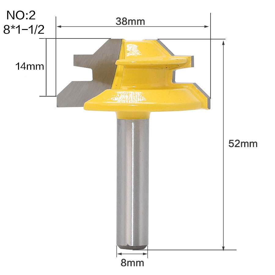 HTB1P8.NvKuSBuNjSsziq6zq8pXat - 1Pc 45 Degree Lock Miter Router Bit 8Inch Shank Woodworking Tenon Milling Cutter Tool Drilling Milling For Wood Carbide Alloy