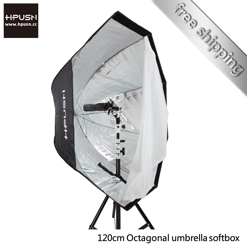 Reflective Umbrella Softbox: Hpusn Photography 120cm Octagonal Softbox Reflective