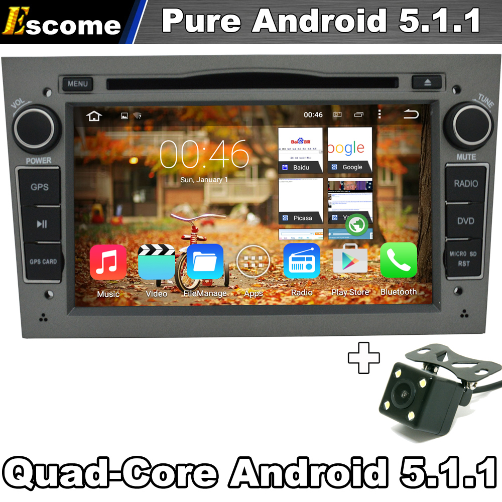 pure android 5 1 1 car dvd player stereo gray color for. Black Bedroom Furniture Sets. Home Design Ideas