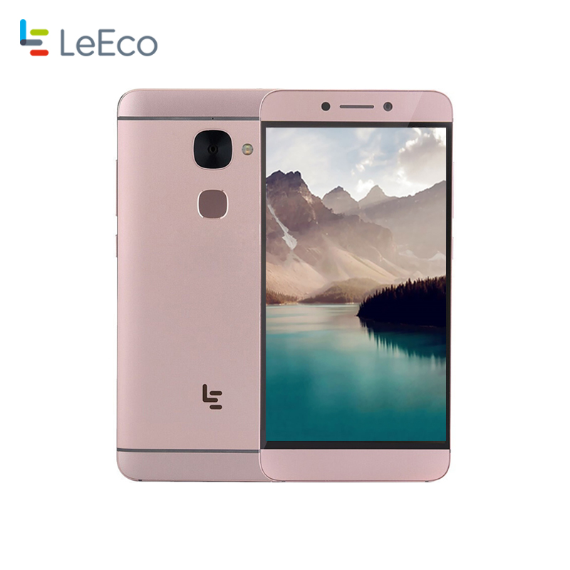 LETV X620 MTK Helio X20 Deca 2.3GHz 4G Smartphone 3GB RAM 32GB ROM Dual SIM Card 1920x1080P 16MP Camera Fingerprint ID CellPhone