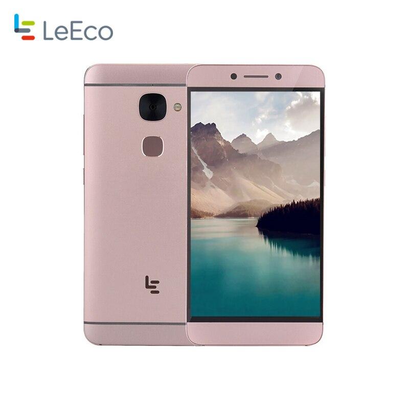 LETV X620 MTK Helio X20 Deca 2.3GHz 4G Smartphone 3GB RAM 32GB ROM Dual SIM Card 1920x1080P 16MP Camera Fingerprint ID CellPhone