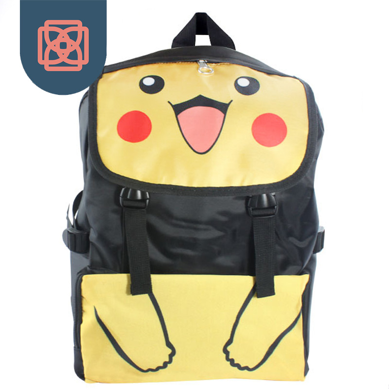 ФОТО School Bags for teenagers Waterproof Backpack Travel bag  printing Pokemon Backpacks laptop  bagpack sac a dos mochila