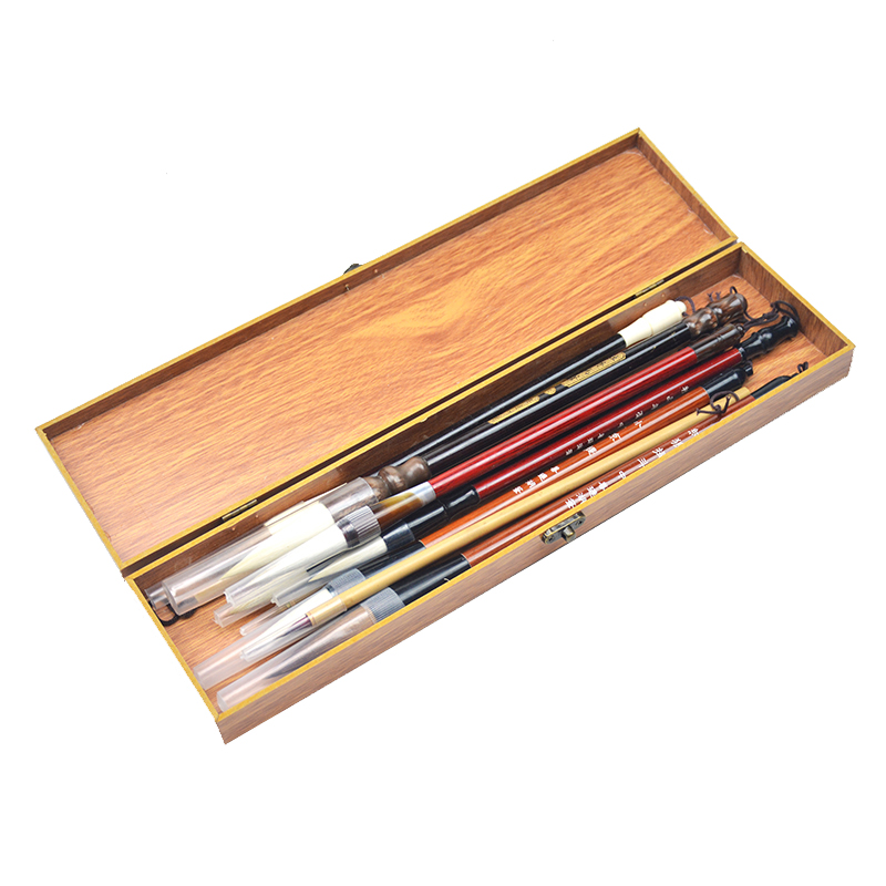 High Grade Beginner's Special Chinese Painting Writing Brush Sets Student Meticulous Painting Painting Supplies Writing Brush цена 2017