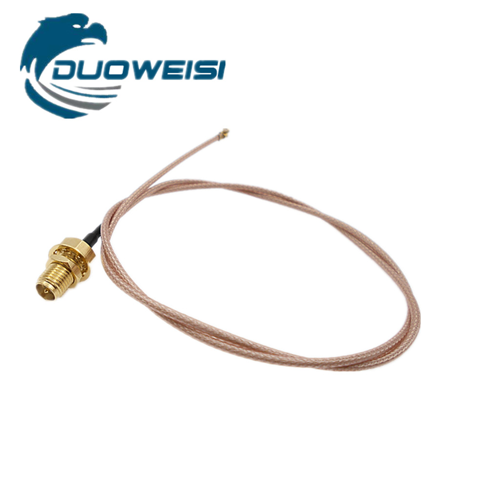 SMA female male extension cable IPEX adapter wifi module antenna coaxial jumper RG178 silver plated needle