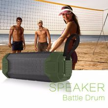 Itek Portable Outdoor Travel IPX5 Waterproof Bluetooth Speaker Power Bank Audio Subwoofer Speakers Support AUX TF Card USB input