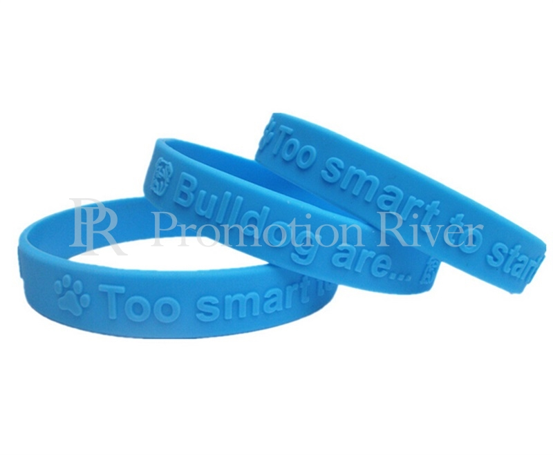 Event Party Supplies Custom Silicone Bracelet Wristband Embossed Debossed Ink Filled Printing Friedship Bracelets In Favors From Home Garden On