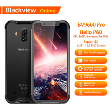 Original IP68 Waterproof Rugged Smartphone Blackview BV9600 Pro 6GB+128GB 19:9 Android 8.1 Wireless Charger Outdoor Mobile Phone