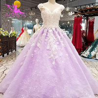AIJINGYU Wedding Dreess White Queen Gowns Bridal Mother Of The Groom Clothes Light Stores Indian Gown Custom Wedding Dress