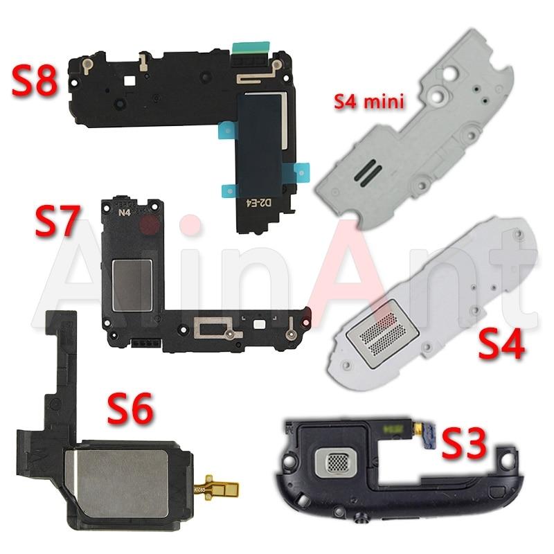 Original For Samsung Galaxy S3 I9300 S4 Mini I9500 S5 S6 S7 Edge S8 Plus Loudspeaker Loud Sound Speaker Flex Cable