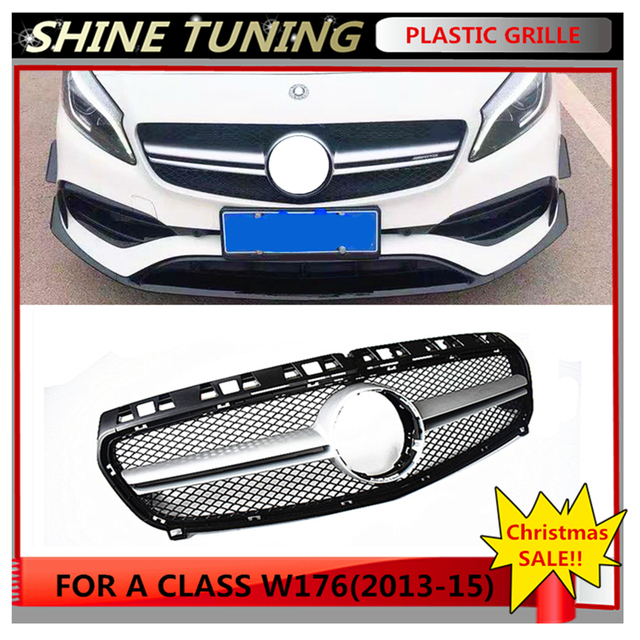 Front grille Suitable for mercedes benz A Class W176 A45 Grille 2013-15 A180 A200 A250 GT ABS GRILL