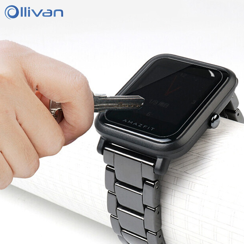 Ollivan HD Screen Protectors For Xiaomi Huami Amazfit Bip Youth Smart Watch Protective Film Smart Accessories For Amazfit Bip