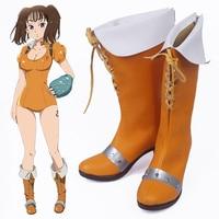 Anime The Seven Deadly Sins Cosplay Shoes Diane Cosplay Boots Halloween Party Nanatsu No Taizai Serpent's Sin Of Envy Matrona