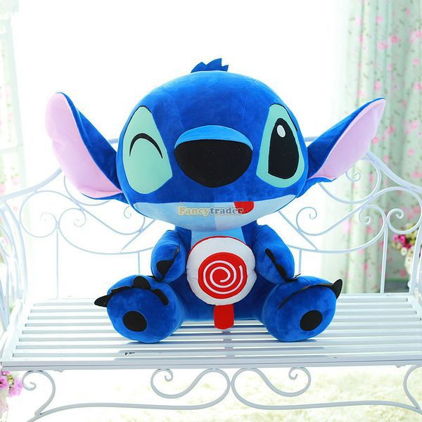 Fancytrader 26'' / 65cm Giant Stuffed Soft Plush Lovely Big Funny Stitch Toy, Cute Gift For Kids, Free Shipping FT50691 - 5