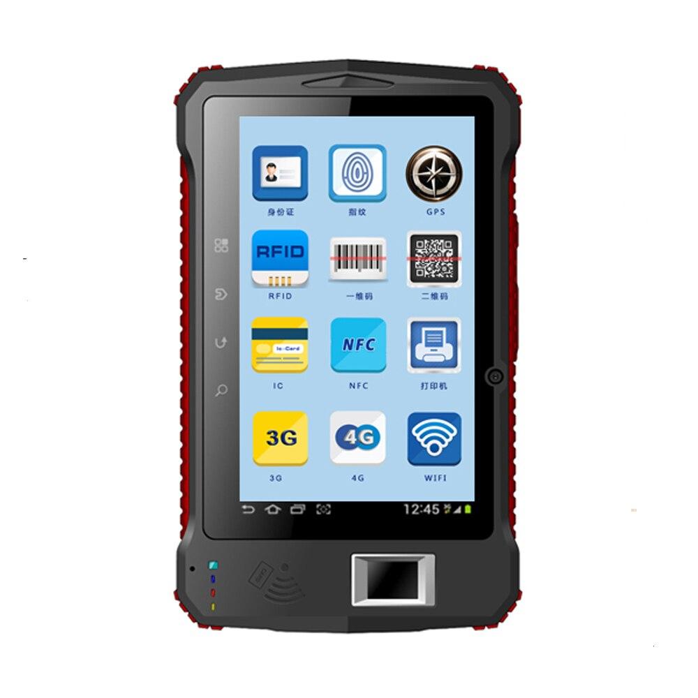 7 Quot Industrial Rugged Tablet Fingerprint Uhf Rfid 2d Laser