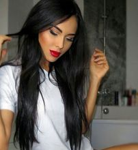 Best Brazilian Glueless Full Lace Front Wigs For Black Women Silky Straight Human Hair Wigs With Baby Hair