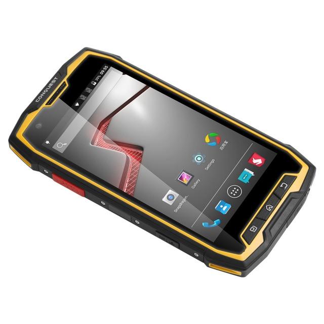 Original Rugged Phone Conquest S9 IP68 Waterproof 4G Smartphone 2GB RAM 32GB ROM 5.5 Inch Screen 6000mAh Big Battery NFC S6 S8