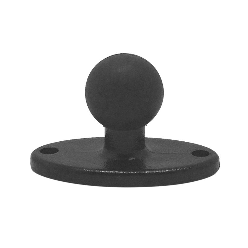 Rubber Ball Head Mount Adapter Bracket Plate For Ram Mounts For Gopro Camera Smartphones Extension Arm For Garmin ZUMO Plate Acc