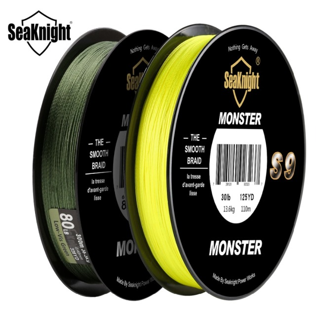 Super Best SeaKnight Monster S9 300M PE Fishing Line Fishing Lines cb5feb1b7314637725a2e7: Green|Yellow