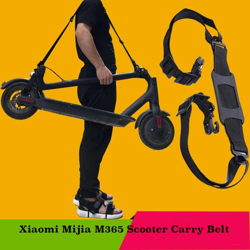 Oxford de alta calidad Xiaomi Mijia M365 Scooter Skateboard mano asa de hombro correas Correa correas 1 a 1,6 M Accesorios