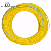 Free Shipping High Quality Double Color Spey Fly Fishing Line 125ft Weight Forward Floating Fly Line