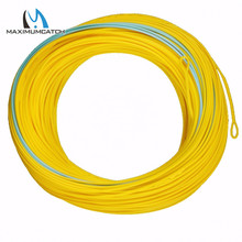 Maximumcatch 7-11wt Spey Fly Fishing Line 125FT Double Color Weight Forward Floating Fly Line