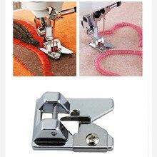 AA7017-2 de prensatelas para máquina de coser con flecos/Looping pie 9906