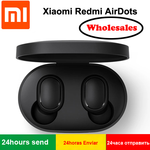 Original Xiaomi Redmi Airdots DSP Active Noise Cancellation Wireless Bluetooth 5.0 Earphones With Mic Earbuds