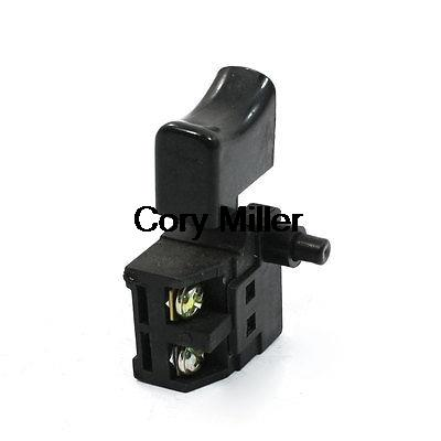AC 250V 6A SPST Lock on Trigger Button Switch for Marble Cutters