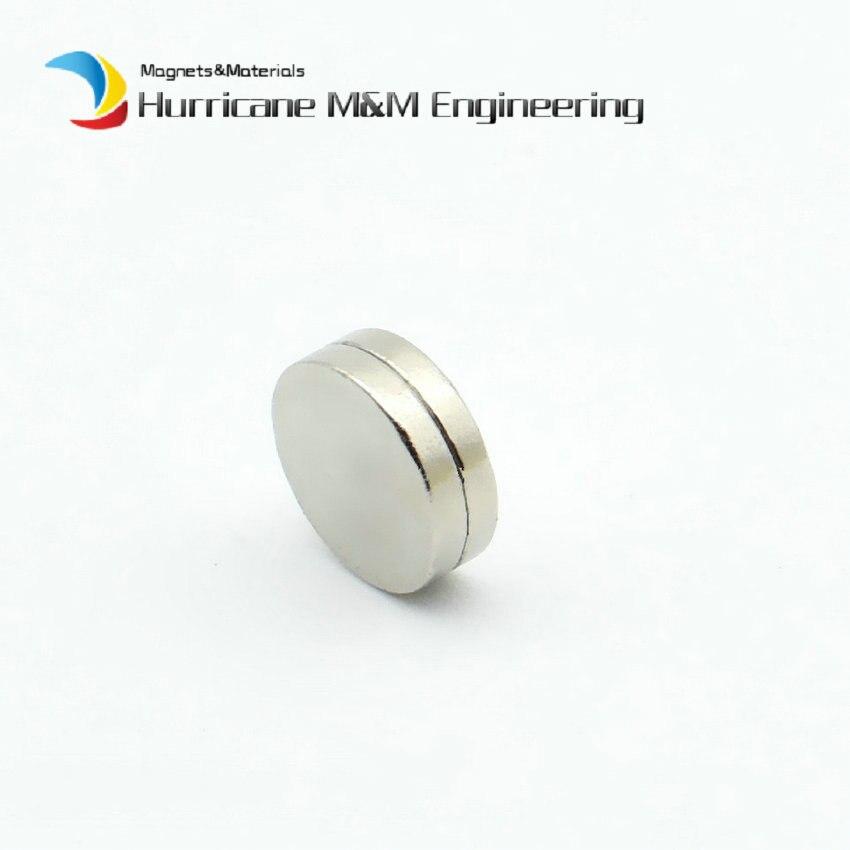 500-5000 pièces NdFeB aimant disque diamètre 6.35x1mm Dia. Aimants permanents de laboratoire de terre Rare de néodyme de bouton d'emballage de 1/4''