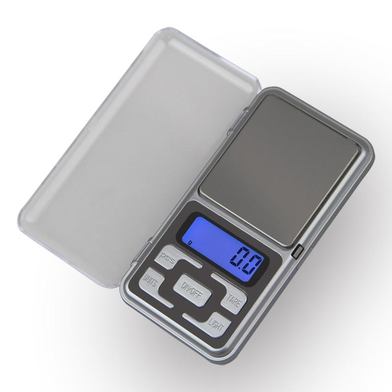 مقیاس های دیجیتال 200g x 0.01g Mini Precision برای جواهرات مقیاس نقره ای با ارزش طلا Bijoux 0.01 مقیاس الکترونیکی وزن