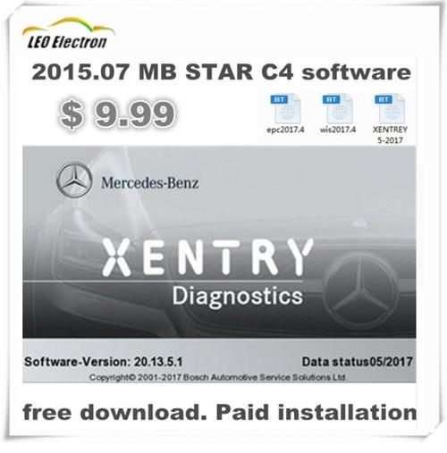 Prix pour Dernières MB Star C4 Installation Du Logiciel CPE et WIS téléchargement gratuit/L'installation XENTRY et DAS pour voitures/camions/autobus par teamviewer