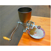 Manual Hand Home Large Walnut Peanut Corn Flour Mill Tinned Iron Mill Grain Grinder Herbs
