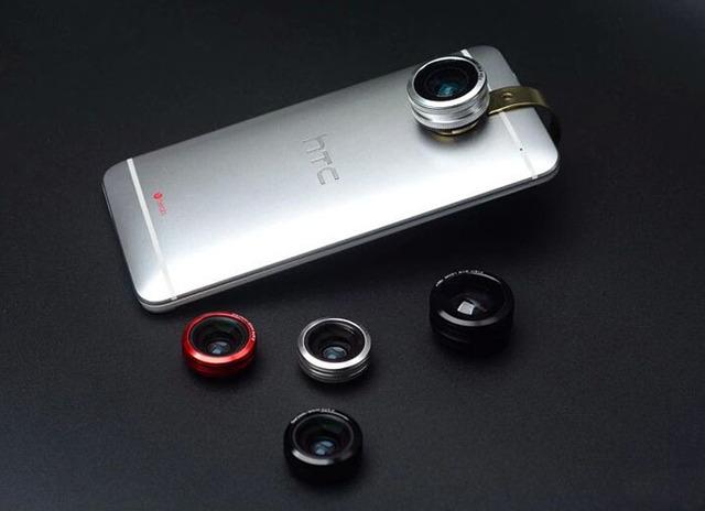 Anillo de Metal Teléfono Móvil Clip Lente ojo de Pez Lente gran angular micro lente Para Sony Xperia E5, 3 OnePlus OnePlus Tres