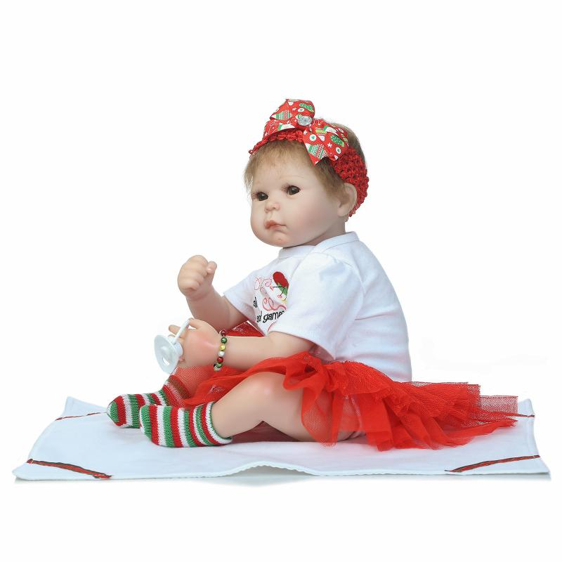55cm Bebe Reborn Baby Dolls Newborn Baby Doll Kids Toys girl Boy Birthday Wedding Gifts Photography Props Early Education Gift makegood eu standard smart remote control touch switch 2 gang 1 way crystal glass panel wall switches ac 110 250v 1000w