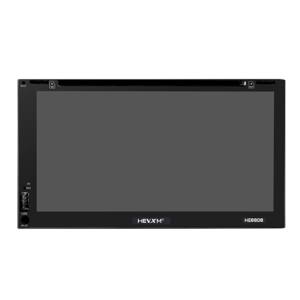 Image 3 - HEVXM HE6606 6.95 inch vehicle navigation integrated machine Android GPS navigation DVD player large touch screen WIFI-in Vehicle GPS from Automobiles & Motorcycles