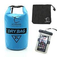 HITORHIKE 2L открытый ПВХ Водонепроницаемый сухой мешок с чехлом телефона прочный легкий Дайвинг Кемпинг плавание рюкзаки, сумки для путешестви...