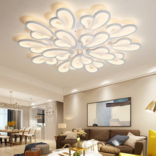 купить Modern LED Ceiling Lights for Living room Bedroom AC85-265V White color Remote control indoor lighting Ceiling Lamp Fixtures по цене 3388.13 рублей